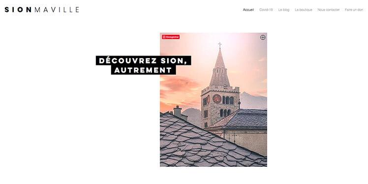 Sion ma ville – Covid19